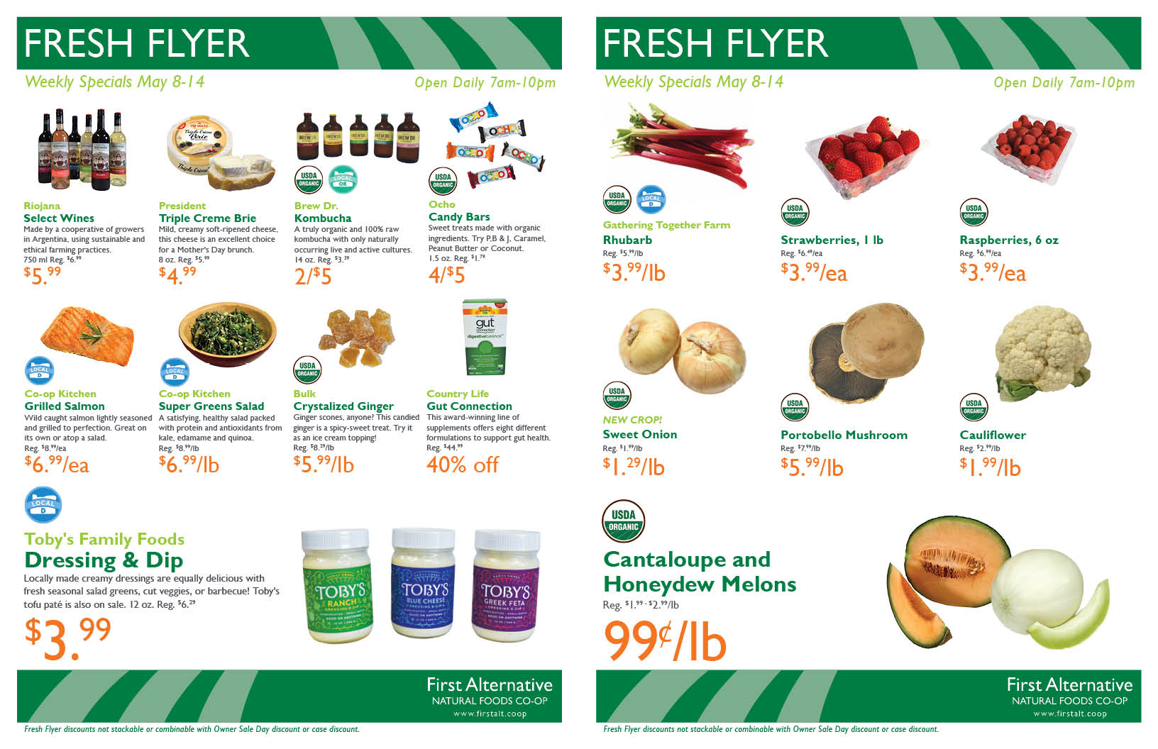 First Alternative Co-op Fresh Flyer May 8-14