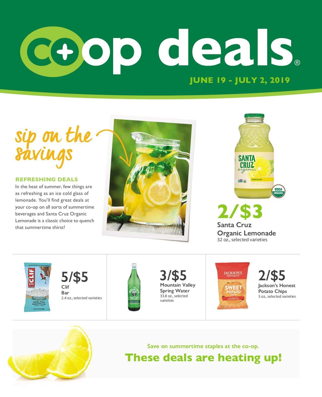 First Alternative Co-op Fresh Flyer June B 2019