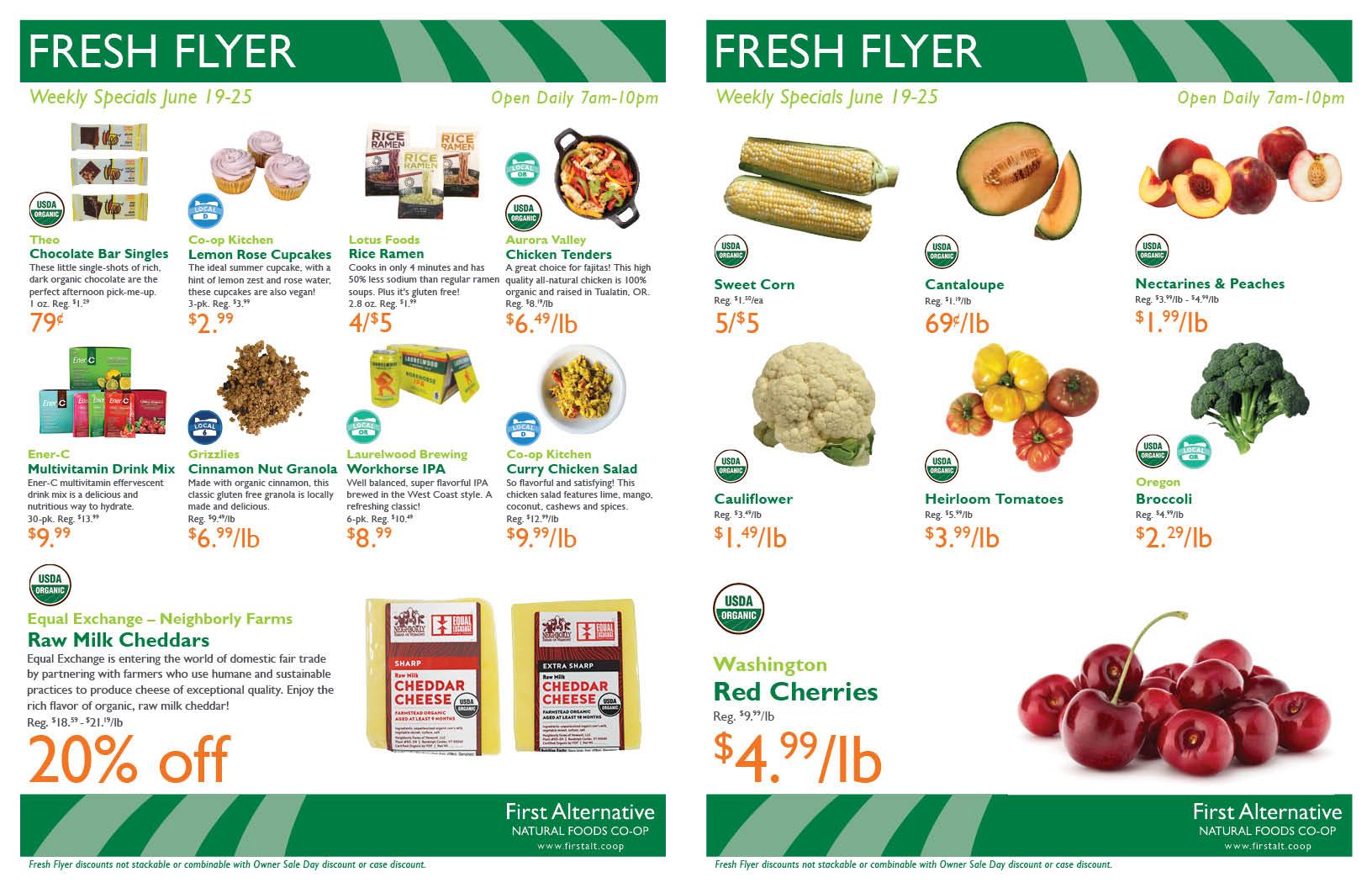 First Alternative Co-op Fresh Flyer June 19-25