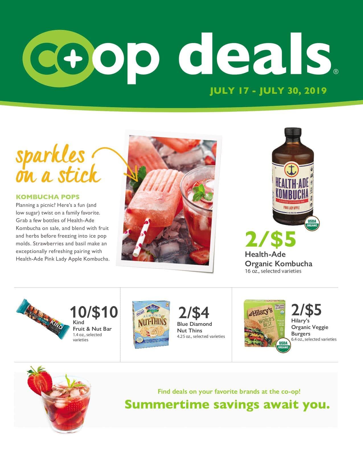 First Alternative Co-op Deals Flyer July 17-30