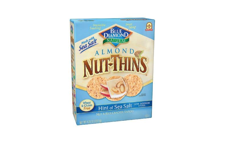 Co-op Sales Blue Diamond Nut Thins Crackers