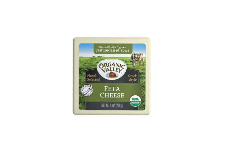 Co-op Sales Organic Valley Feta Cheese