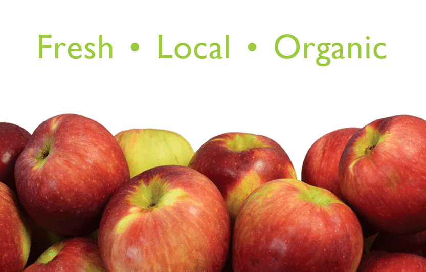Fresh Local Organic Apples