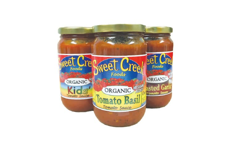Co-op Sales Sweet Creek Foods Organic Tomato Sauce