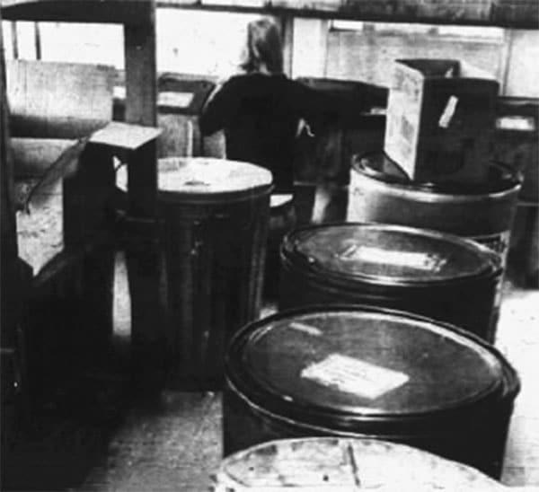 Bulk Area Drums
