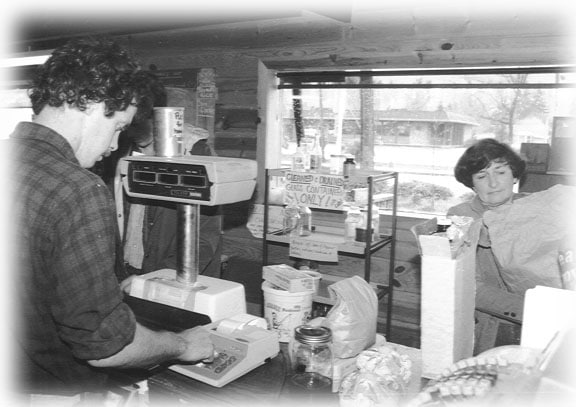 Original Co-op 70s cashier