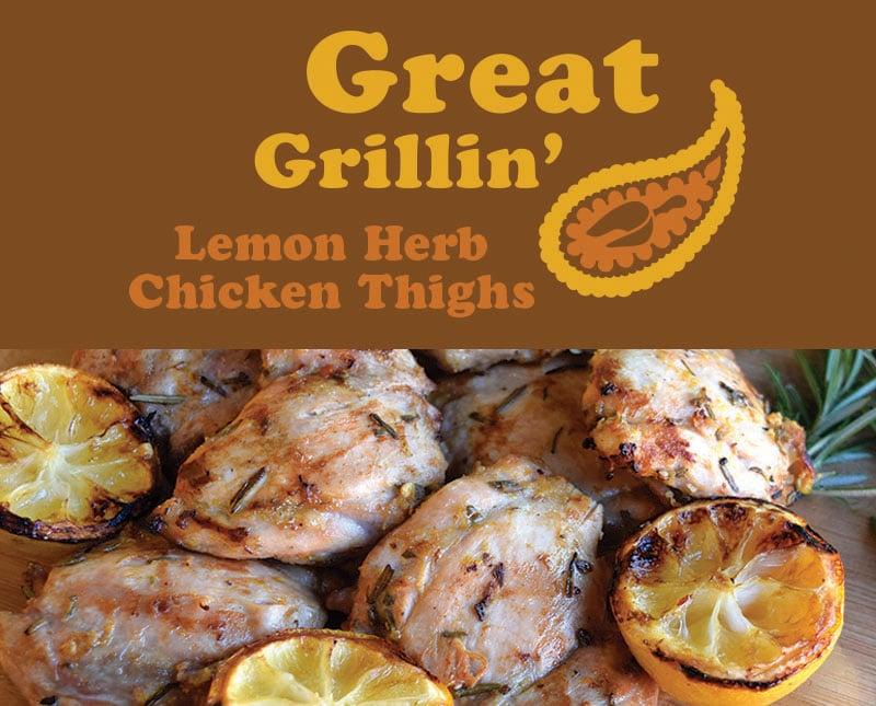 Lemon Herb Chicken Thighs