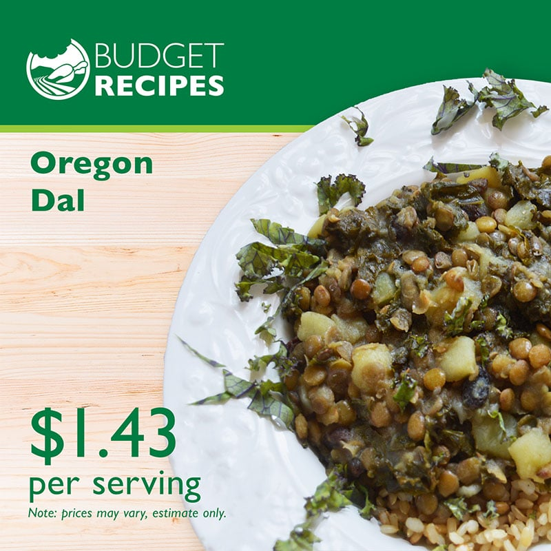 Budget Recipe Oregon Dal