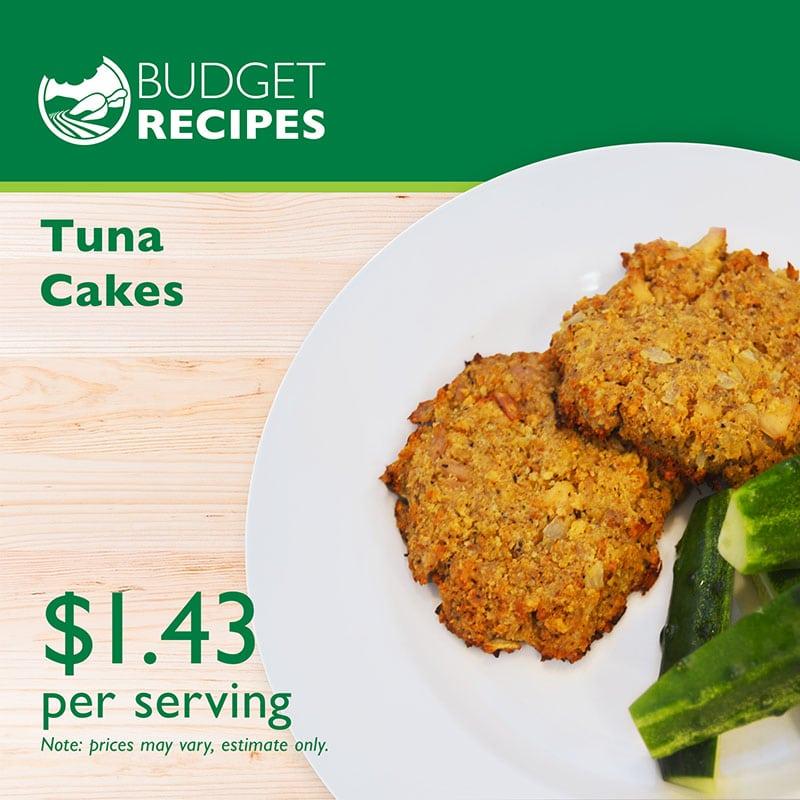Budget Recipe Tuna Cakes