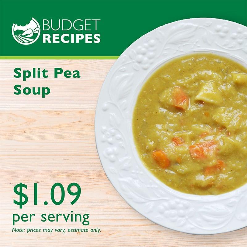 Budget Recipes Split Pea Soup