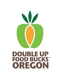 Double Up Food Bucks Oregon logo