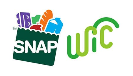 SNAP & WIC logos
