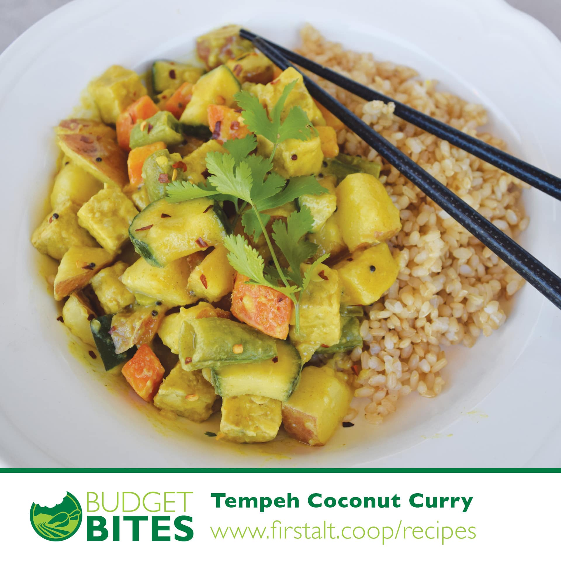 Tempeh Coconut Curry