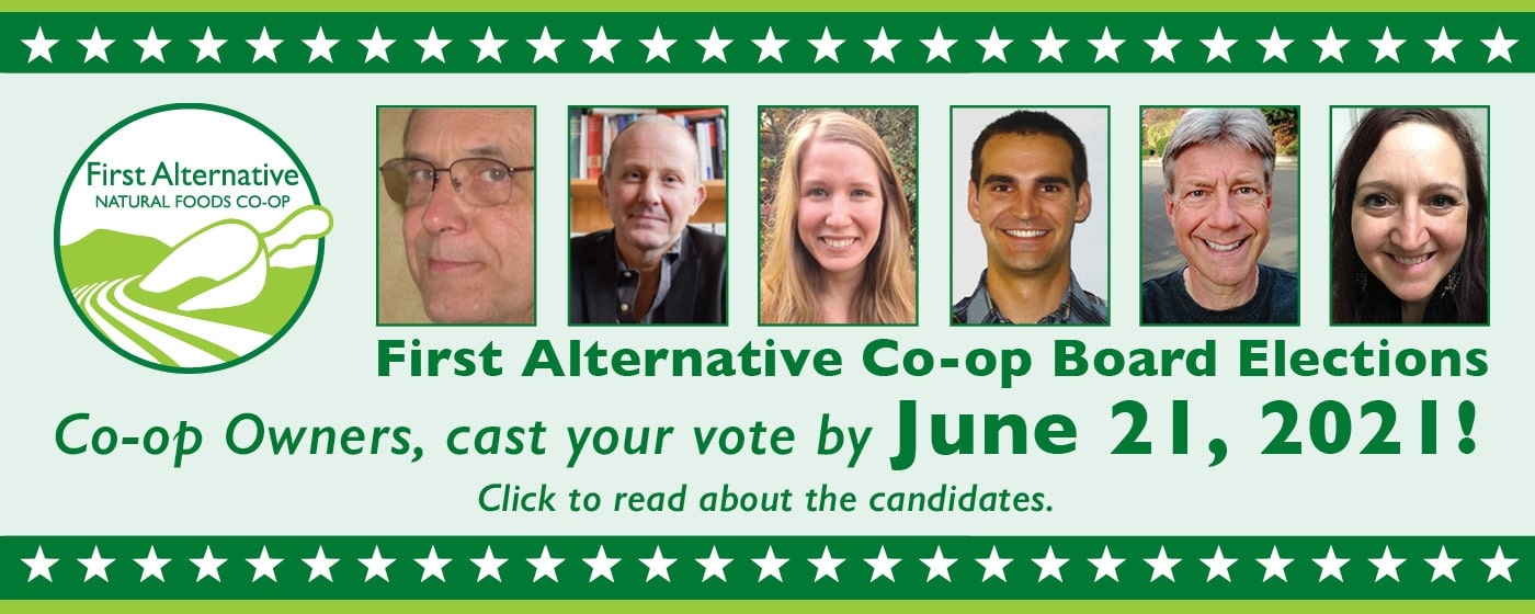 Vote for Co-op Board