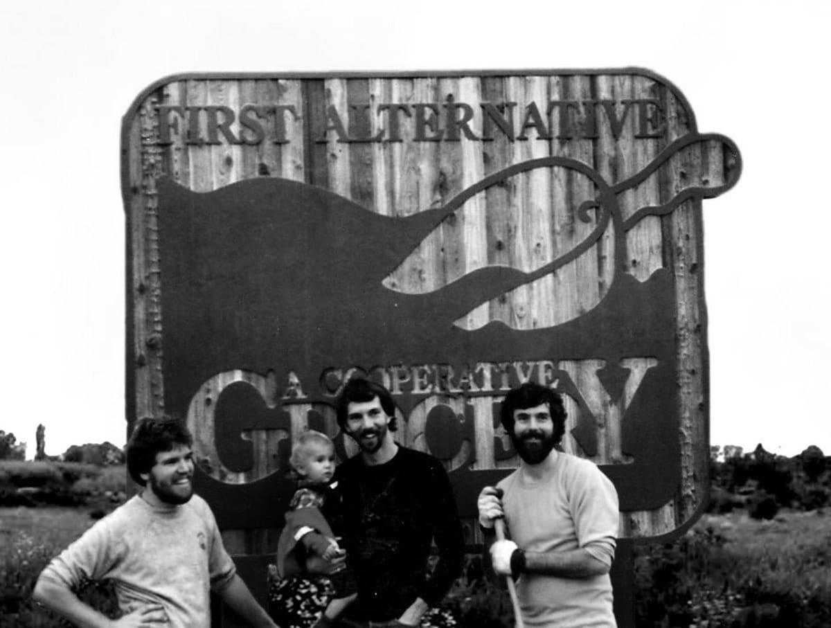 1985 First Alternative Sign