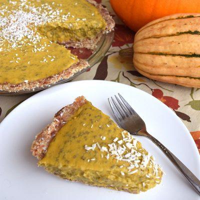 Coconut-Chia Pumpkin Pie